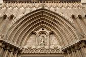Catedral de barcelona, españa — Foto de Stock