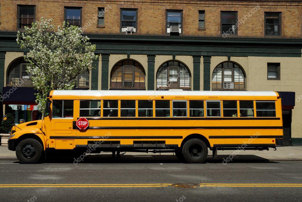 американские школьные автобусы фото