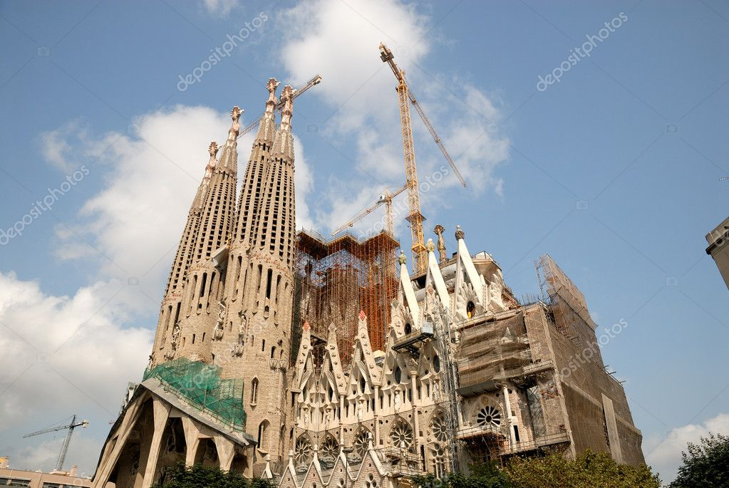 Sagrada Familia in Barcelona Spain — Stock Photo #6777220