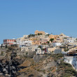 Thira, the main town of Santorini, Greece — Stock Photo