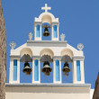 Stock Photo: Belltower in Santorini, Greece