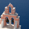 Belltower in Santorini, Greece - Stock Photo