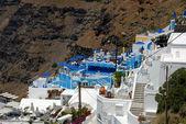 View over Thira, Santorini Greece — Stock Photo