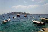 Bateaux de pêche en grèce — Photo