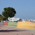 Promenade in Puerto del Rosario, Fuerteventura Spain — Stock Photo