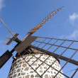 Traditional Windmill on Canary Island Fuerteventura, Spain — Stock Photo
