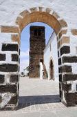 Church in La Oliva, Fuerteventura Spain — Stock Photo