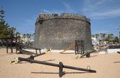 Castillo em caleta de fuste, fuerteventura espanha — Fotografia Stock