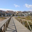 Resort Jandia Playa, Fuerteventura, Canary Islands Spain — Stock Photo
