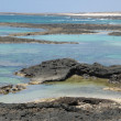 Stock Photo: Coast near El Cotillo, Canary Island Fuerteventura, Spain