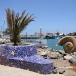 Promenade in Puerto del Rosario. Canary Island Fuerteventura, Spain — Stock Photo #6893672