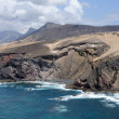 Rocky West Coast of Canary Island Fuerteventura, Spain — Stock Photo