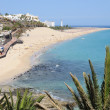 Beach of Morro Jable, Canary Island Fuerteventura, Spain — Stock Photo