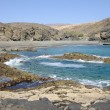 Rocky west coast of Fuerteventura, Canary Islands Spain — Stock Photo