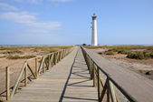 Lighthouse Faro de Jandia, Fuerteventura Canary Islands Spain — Stock Photo