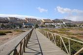 Resort Jandia Playa, Fuerteventura, Canary Islands Spain — Stock Photo