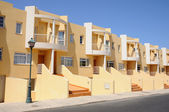 Vacation homes on Canary Island Fuerteventura, Spain — 图库照片
