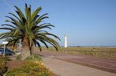 Promenade à jandia playa, canaris île fuerteventura, espagne — Photo