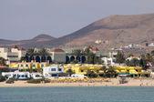Plage de corralejo, canaries île fuerteventura, espagne — Photo