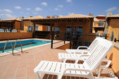 Vacation apartments with pool, Spain — Stock Photo