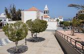 Plaza en puerto del rosario, canarias isla fuerteventura, españa — Foto de Stock