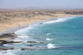 エル cotillo、フェルテベントゥラ島、スペインの近くの海岸 — ストック写真