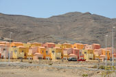 Urbanization near Gran Tarajal, Canary Island Fuerteventura, Spain — Stock Photo