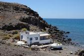 Huis in een vissersdorp — Stockfoto