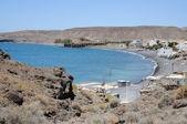 Fischen dorf la lajita fuerteventura, spanien — Stockfoto
