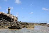 Deniz feneri punta de jandia, fuerteventura — Stok fotoğraf