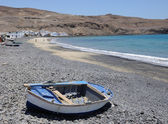 Plage de pêche village pozo negro. fuerteventura, espagne — Photo