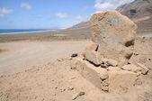 Cadastre-se para playa de cofete, canárias ilha fuerteventura, espanha — Foto Stock