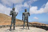 Monument in Fuerteventura, Spain — Stock Photo