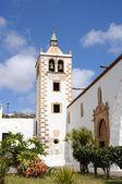 Iglesia en el casco histórico de betancuria, canarias isla de fuerteventura, españa — Foto de Stock