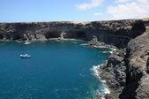 Costa perto de fuerteventura ilha de ajuy, canárias, espanha — Foto Stock