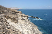 Coast near fishing village Ajuy, Canary Island Fuerteventura, Spain — Stock Photo