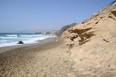 Costa cerca de la pared, isla de canarias fuerteventura — Stockfoto