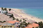 Vue aérienne de morro jable, canaris île fuerteventura — Photo
