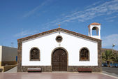 Church in La Lajita, Canary Island Fuerteventura, Spain — Stock Photo
