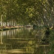 Canal du Midi near Beziers, southern France — Stock Photo #7397809