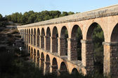 Ancient roman aqueduct in Tarragona, Spain — Stock Photo