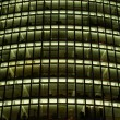 Modern Office Building, Nightshot — Stock Photo