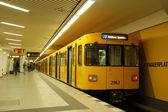 Metro station in berlin — Stock Photo