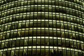 Modern Office Building, Nightshot — Stock Photo