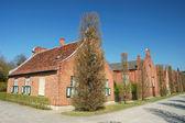 Dutsch brick houses — Stock Photo