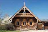 Traditional Russian House — Stock Photo