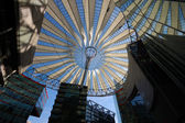 Futuristic Roof of the Sony Center in Berlin — Stock Photo