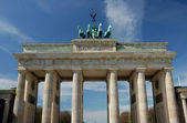 Brandenburger Gate in Berlin, Germany — Stock Photo