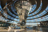 Cupola of the Reichstag Building in Berlin, Germany — Stock Photo