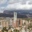 Stock Photo: Highrise buildings in Benidorm, Spain
